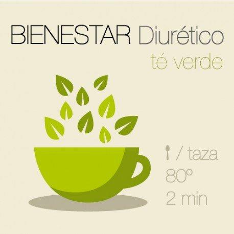 Mezcla de té verde Diurético