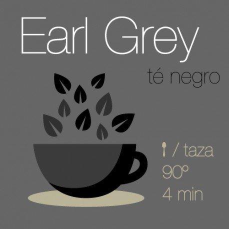 Mezcla de té negro Earl Grey