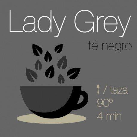 Mezcla de té negro Lady Grey