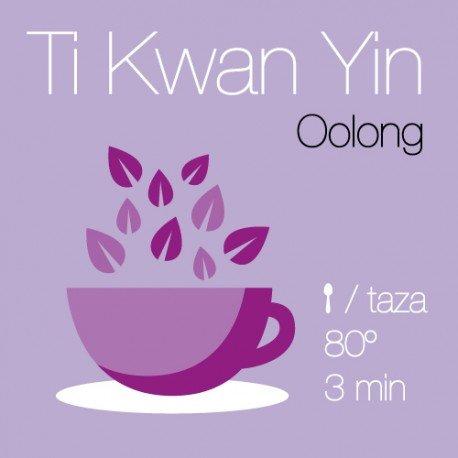 Té China Oolong Ti Kwan Yin