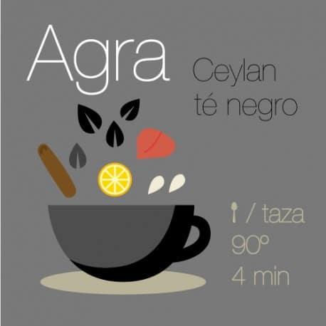 Mezcla de té negro Agra