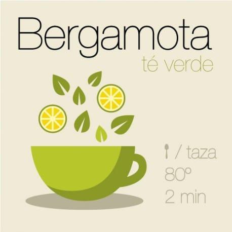 Té verde con Bergamota