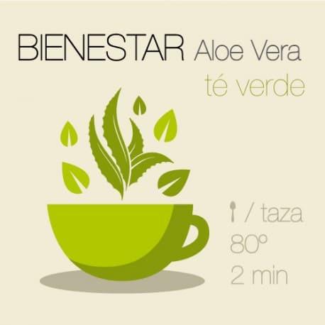 Té verde con Aloe Vera