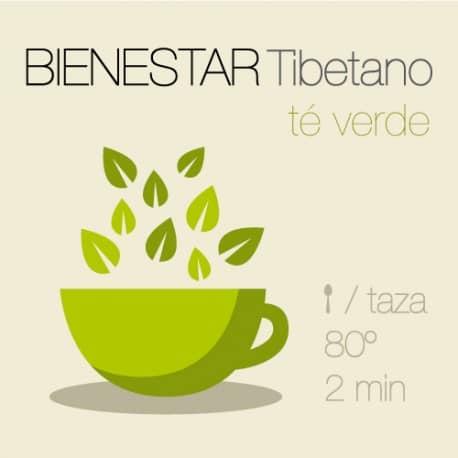 Mezcla de té verde Tibetano