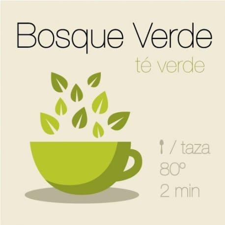 Mezcla de té verde Bosque Verde