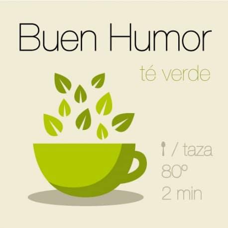 Mezcla de té verde Buen Humor