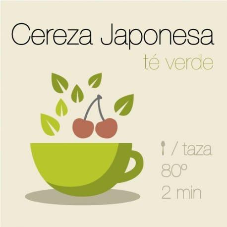 Té verde con Cereza Japonesa