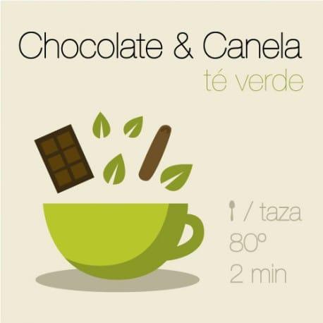 Té verde con Chocolate y Canela