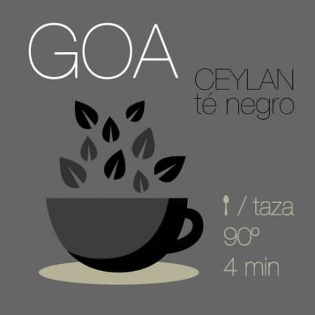 Mezcla de té negro Goa