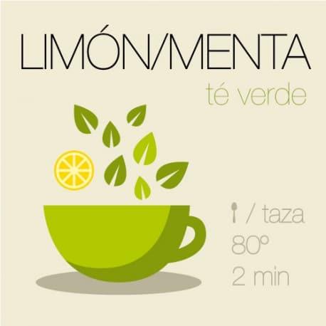 Té verde con Limón y Menta