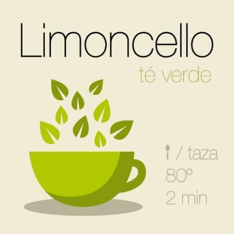 Mezcla de té verde Limoncello