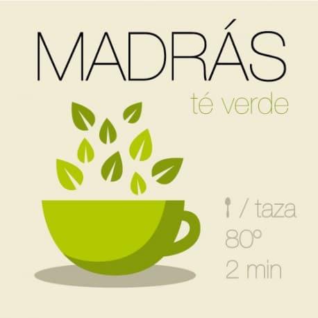 Mezcla de té verde Madrás