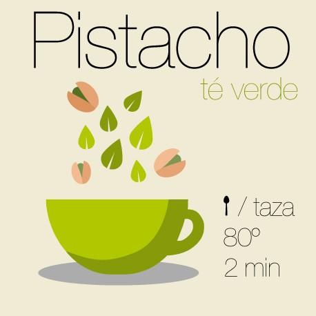Té verde con Pistacho