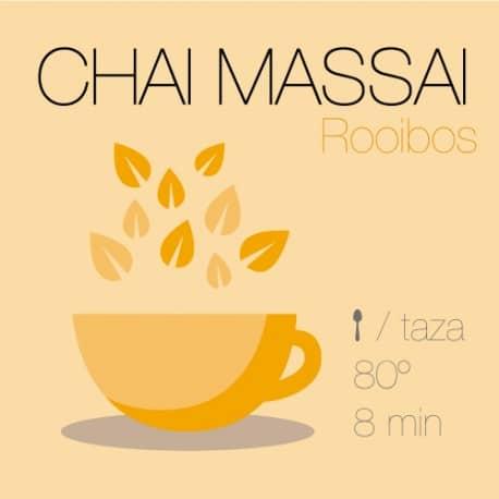 Mezcla de rooibos Chai Massai