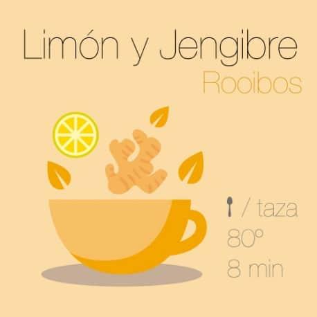 Rooibos con Limón y Jengibre