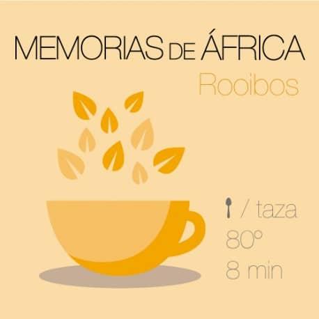 Mezcla de rooibos Memorias de África
