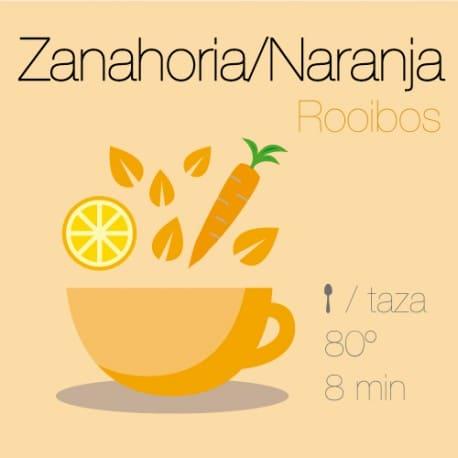 Rooibos con Zanahoria y Naranja
