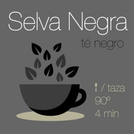 Mezcla de té negro Selva Negra