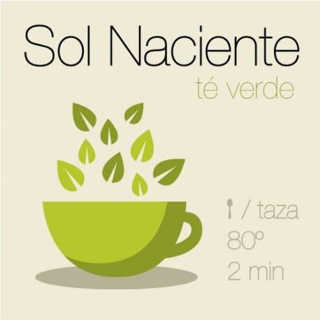 Mezcla de té verde Sol Naciente