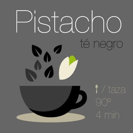 Té negro con Pistacho