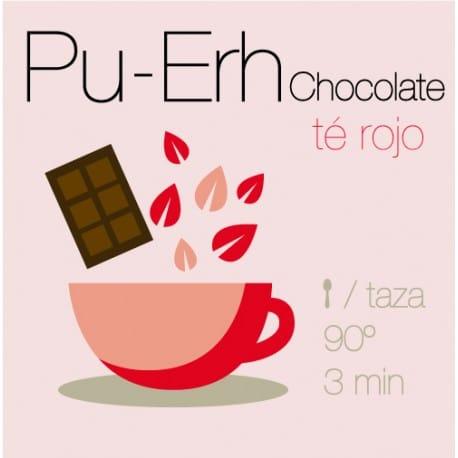 Té rojo Pu-Erh con Chocolate
