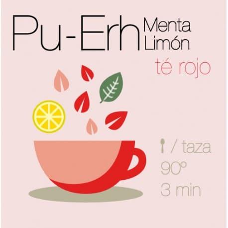 Té rojo Pu-Erh con Limón y Menta