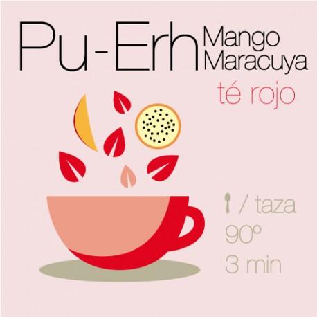 Té rojo Pu-Erh con Mango y Maracuyá