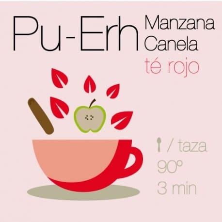 Té rojo Pu-Erh con Manzana y Canela
