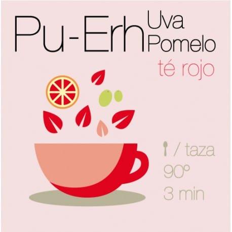 Té rojo Pu-Erh con Uva y Pomelo