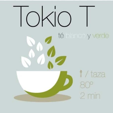 Mezcla de té verde y té blanco Tokio T