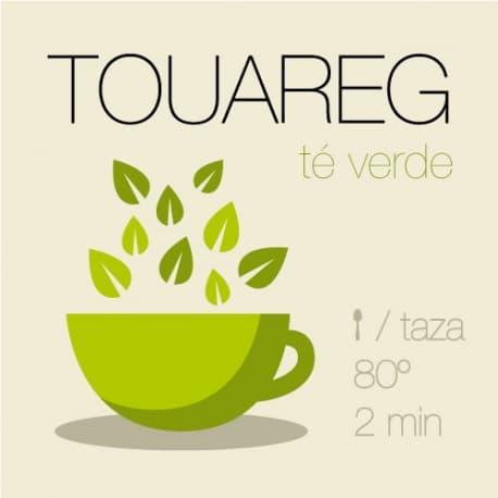 Mezcla de té verde con menta Touareg