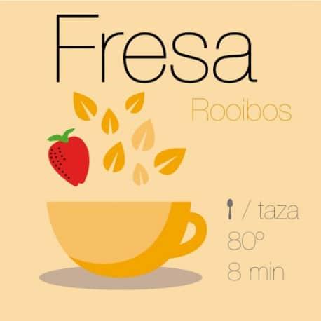 Rooibos con Fresa