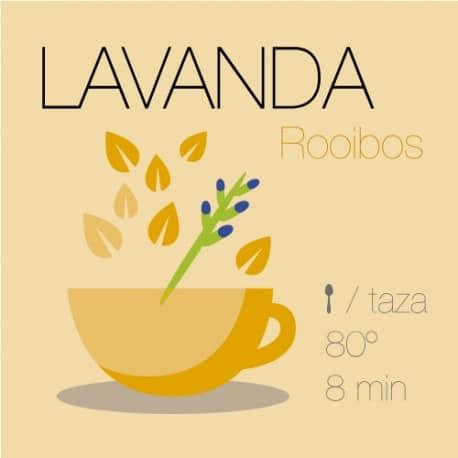 Mezcla de rooibos Lavanda Relax