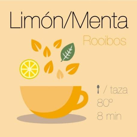 Rooibos con Limón y Menta
