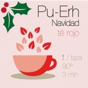 Pu-Erh Navidad te Rojo