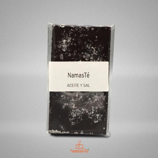 Chocolate Negro Aceite y Sal Maldon NamasTé Infusiones Badalona