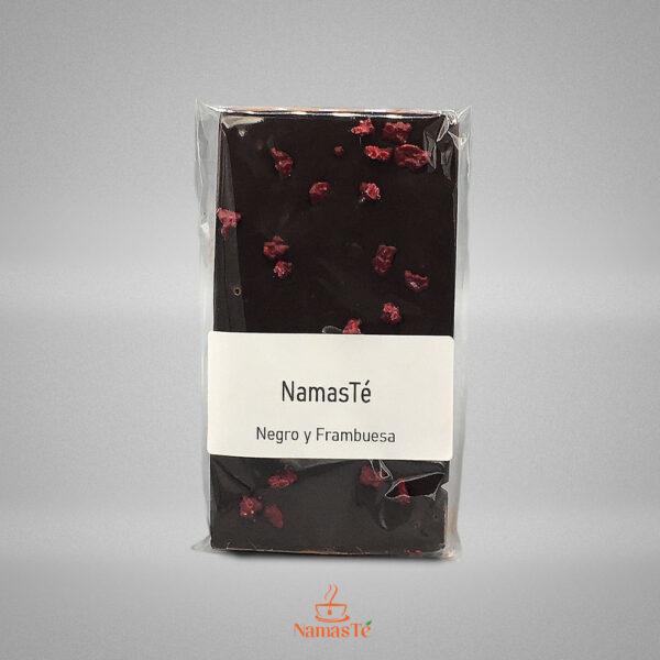 Chocolate Negro con frambuesa NamasTé Infusiones Badalona