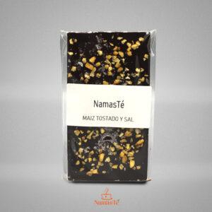 Chocolate Negro Kikos y Sal Maldon NamasTé Infusiones Badalona