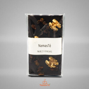 Chocolate Negro Nueces y Pasas NamasTé Infusiones Badalona