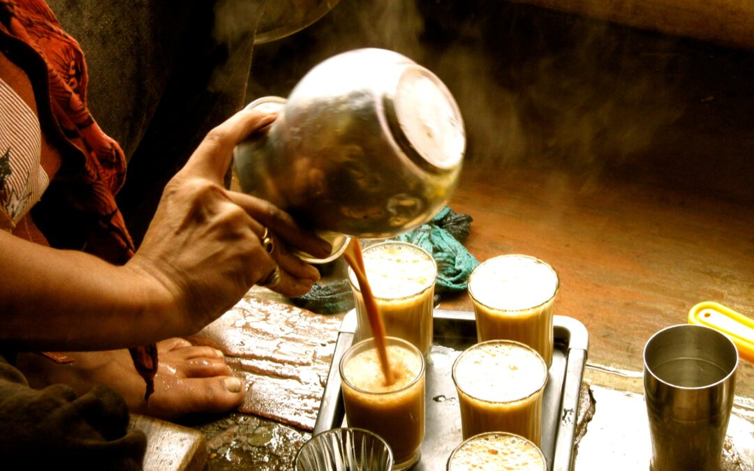 Chai, la palabra del té